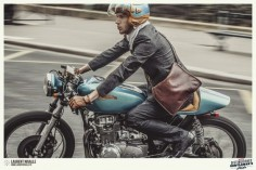 Honda new-wave cafe racers : : : The Distinguished Gentleman's Ride by Laurent Nivalle, via Behance