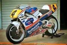 Honda NSR500 Darren Beattie