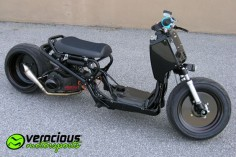 Honda Ruckus scooter. I never thought I'd say this but, I'd totally ride this scooter.