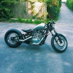Honda Shadow bobber | Bobber Inspiration - Bobbers and Custom Motorcycles August 2014