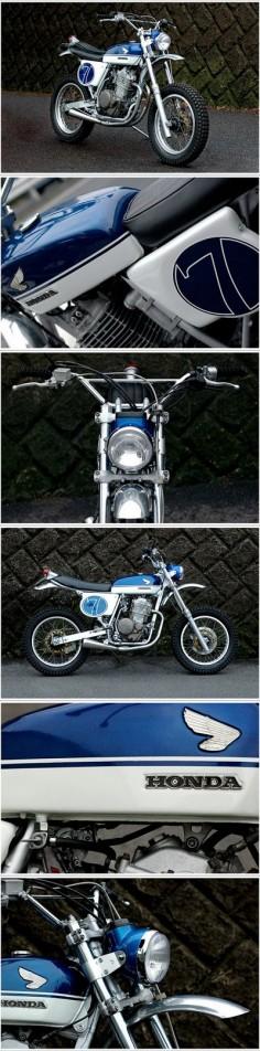 Honda SL90 - Custom Motorcycle Beautiful!