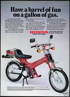 Honda Urban Express Motor Bike (USA, 1982).