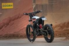 Honda XR600R Street Tracker - Dimitri Chaussinand |