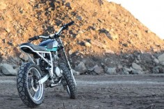Honda XR650 Street Tracker by Saingchink #motorcycles #streettracker #motos |