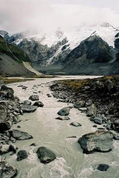 Hooker Valley, Aoraki Mt Cook, New Zealand