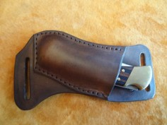 horizontal carry knife sheath