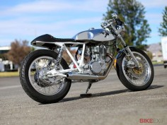 How beautiful is this Yamaha SR500 cafe racer from Chappell Customs?