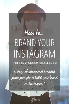 How to brand your Instagram with intentional content and images that help to educate your followers on not only what you do, but how you do it, and how to work with you. By Julie Harris Design