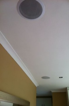 How to Mount Ceiling Speakers and Wirelessly Stream Music to Any Room in Your Home @Heather Creswell Creswell Creswell Creswell