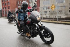 Hypebeast // Lords of Gastown x Barnes Harley-Davidson Limited Edition 'Strong & Free' Custom Street Bob