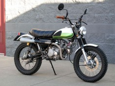 I love this bike! 1971 Honda SL70 by Todd Hunter.