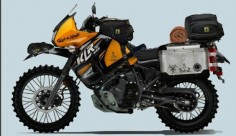 If I ever get another KLR, this is what I'm going to do to it.