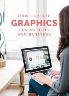 Im frequently asked how I create graphics for my blog posts, design printables and planners