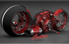 Indian Gorilla V4, future Motorcycle, Vasilatos Ianis