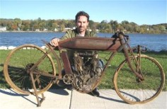 Indian Motorcycle Welcomes Mike Wolfe of American Pickers- I don't often catch that show, but I try to watch it when I can.