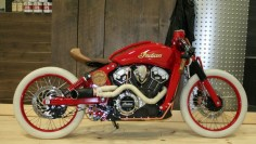 "Indian Motorcycles Project Scout Winner ""Boardtracker"" TERREBONNE, QC MOTOS ILLIMITEES"