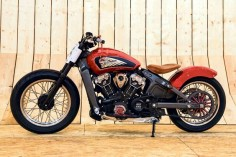 Indian Scout I built for Guy Martin and his Wall of Death