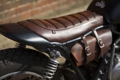 Influx visits the English flatlands of Suffolk to admire a functional custom motorcycle with