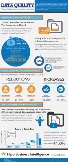 Infographics on data quality – Data Science Central
