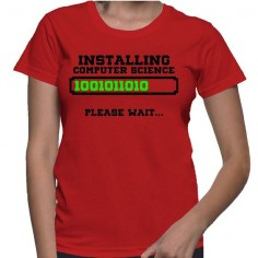 Installing Computer Science Please  T-Shirt