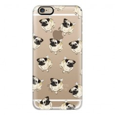 iPhone 6 Plus/6/5/5s/5c Case - PUG PATTERN ( UYU) ❤ liked on Polyvore featuring accessories, tech accessories, iphone case, iphone cases, vista print iphone case, iphone cover case and apple iphone cases