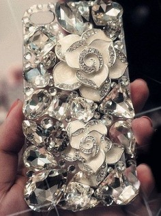 IPhone Case Bling Luxurious Gem Diamond Case For iPhone 4 Case iPhone 4S Case. If someone got this for me, I would love them forever.