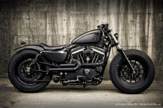 Iron Guerilla custom motorcycle by Rough Crafts