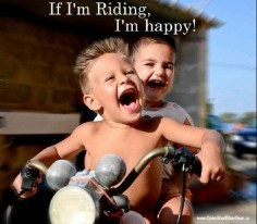 It's what life is about!! All it takes is a ride!!