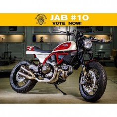 "���� JAB #10! Ducati Scrambler ""Ottanta"" by @Graham Cole ����..."