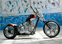 Jesse James West Coast Choppers bike