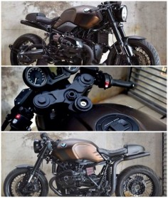 Johnie Wash 'Brown' BMW R Nine T. Taken from Return of the Cafe Racers