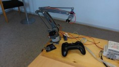 Joystick Controlled Robot Arm Using an Arduino