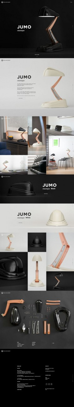 Jumo Classique. Functional, easy to store, and beautiful to look at. via @Matt Frisbie #webdesign #design