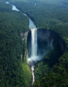 "Kaieteur Falls, ""the world's largest drop waterfall""...Guyana"