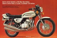 kawasaki 250 s1 2 temps 1972
