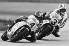 Kenny Roberts & Freddie Spencer, 1983.