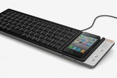 Keys iPhone Keyboard Dock by Omnio, sweet!