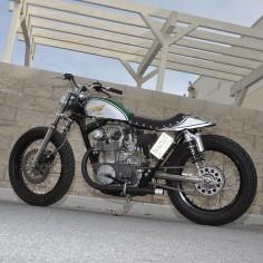 """klassikkustoms: """"#Honda #cb450k #flattacker """""""
