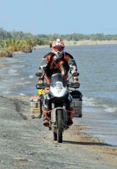 KTM 1190 Adventure R in Africa