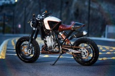 KTM 450 Street Tracker by Vitium Motorcycles |...