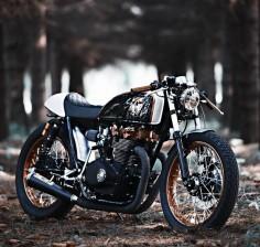 Kuri Kuldnokk HONDA CB500T | Return of the Cafe Racers