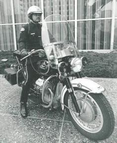 LAPD Moto Guzzi