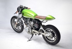 Lean and Green - MotoHangar Virago XV750 via