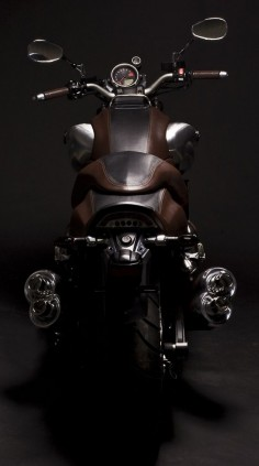 leather clad #motorcycle #motorbike