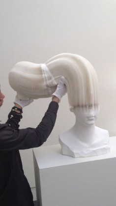 Li Hongbo is a Beijing-based artist who turns ordinary paper into extraordinary sculptures - The sculptures are incredibly detailed and realistic but also bend and flex in incredible ways. Imagine how much time this took! So cool!