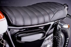 like the seat on this Custom Honda CB550