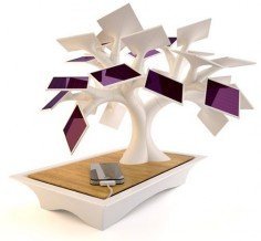 Lol, a bonsai tree that uses solar power to charge your gadgets. Can't kill this one (I think).
