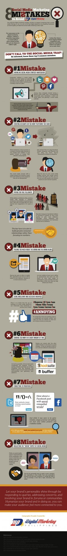 Lots of great tips here! --- Social Media Marketing Mistakes