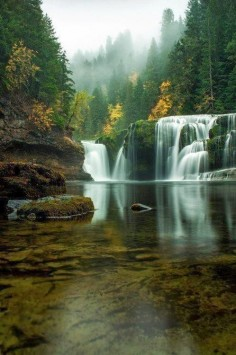 Lower River Falls Washington
