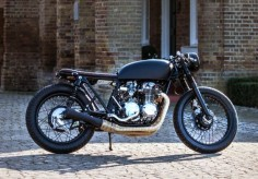 Luke's CB550 by the Bike Shed